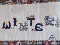 Wandbehang Winter
