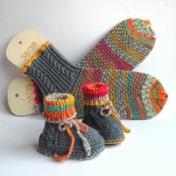 Warme Füße für Mutter und Kind