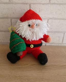 Weihnachtsdeko - Weihnachtsmann/Nikolaus