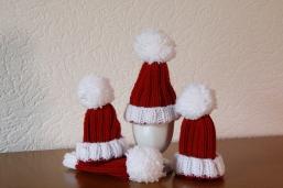 Weihnachtseiermützen