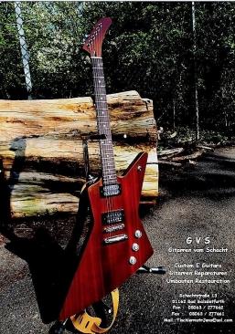 Flyer Gitarre