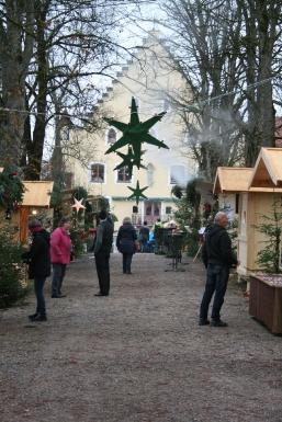 Adventmarkt Schloß Hopferau