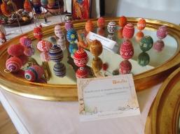 Handgearbeitete Perlen-Dekor-Eier