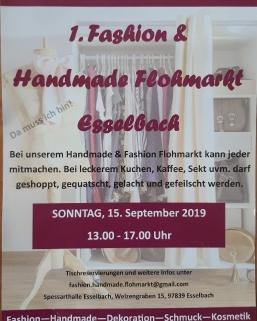 Handmade und Fashion Markt  in Esselbach