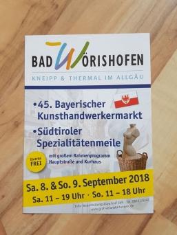 Kunsthandwerkermarkt Bad Wörishofen