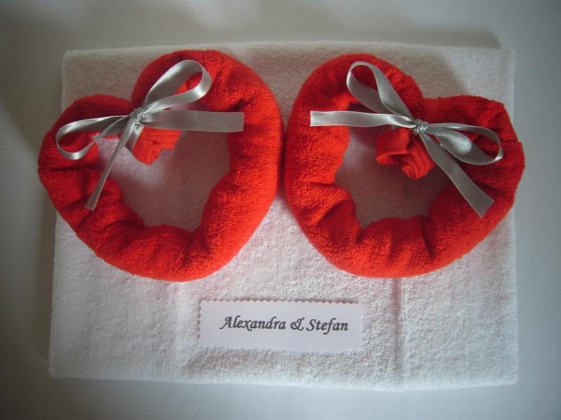 Kleinesbild - Hochzeitsgeschenk Herzen Hochzeit Geldgeschenk romantisch Herz Valentinstag