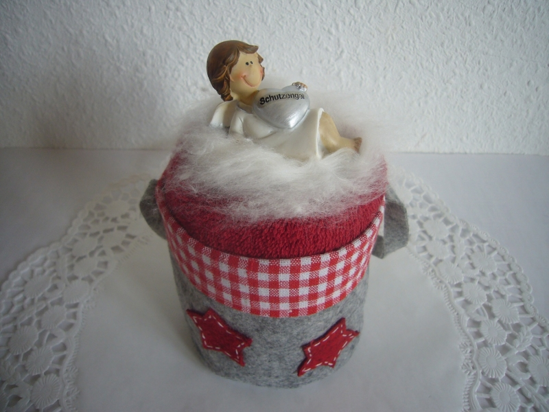 Kleinesbild - Geschenk Weihnachten mit süßem Beschützer Weihnachtsgeschenk Geschenke Nikolaus