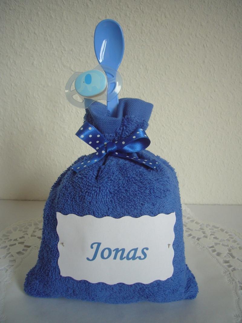 Kleinesbild - Windeltorte Junge Geldgeschenk Geschenk Geburt Taufe blau
