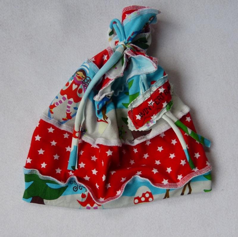 Kleinesbild -   Handmade  Mädchen zwergenschön  Beanie Set  KU 49-51
