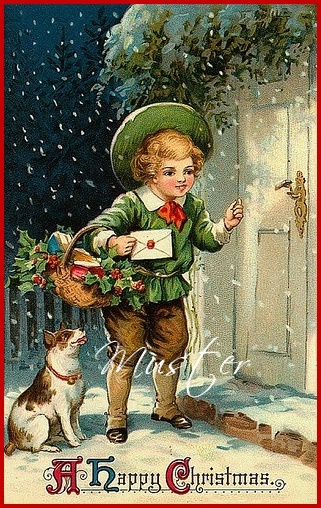 - Stoffbild / Aufnäher / Patches / Applikation / A Happy Christmas 1 und 2 - Stoffbild / Aufnäher / Patches / Applikation / A Happy Christmas 1 und 2