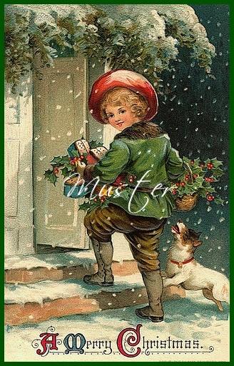 Kleinesbild - Stoffbild / Aufnäher / Patches / Applikation / A Happy Christmas 1 und 2