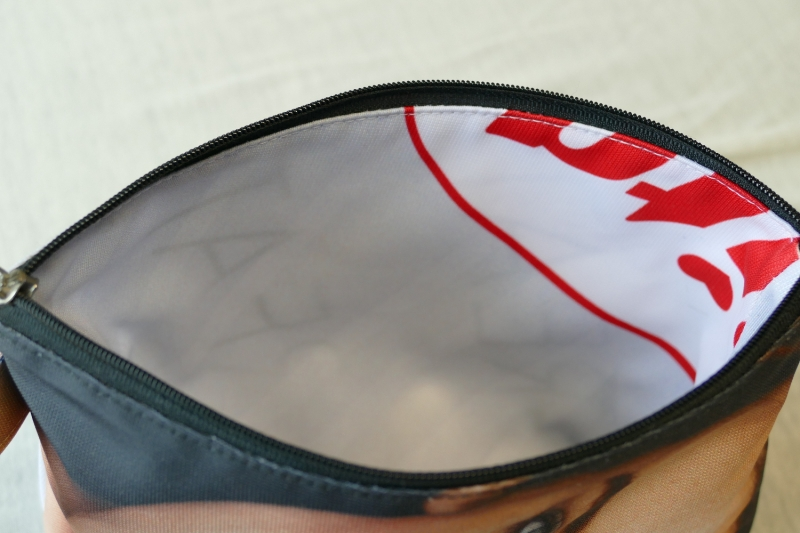 Kleinesbild - Universaltäschchen mit Innentaschen - Upcycling aus Werbebanner