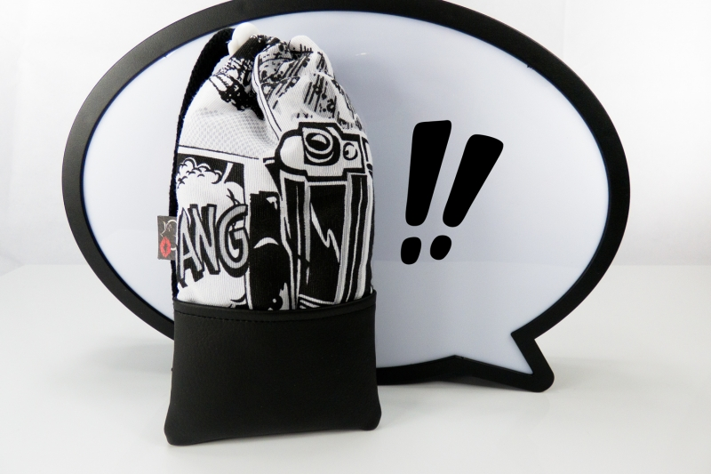 - Handytasche Brillenetui ♥ KAWUMM ♥ im Comic-Stil schwarz-weiß Krimi - Handytasche Brillenetui ♥ KAWUMM ♥ im Comic-Stil schwarz-weiß Krimi