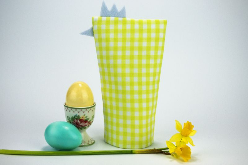 - Eierwärmer HAHN ♡ grün-weiß-karierte Baumwolle ♡ auch eine tolle Dekoration ♡ nicht nur für Ostern - Eierwärmer HAHN ♡ grün-weiß-karierte Baumwolle ♡ auch eine tolle Dekoration ♡ nicht nur für Ostern