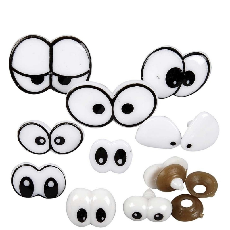 Kleinesbild - Teddy-Augen Sicherheitsaugen Plüschtier-Augen Comic-Augen Kuscheltier