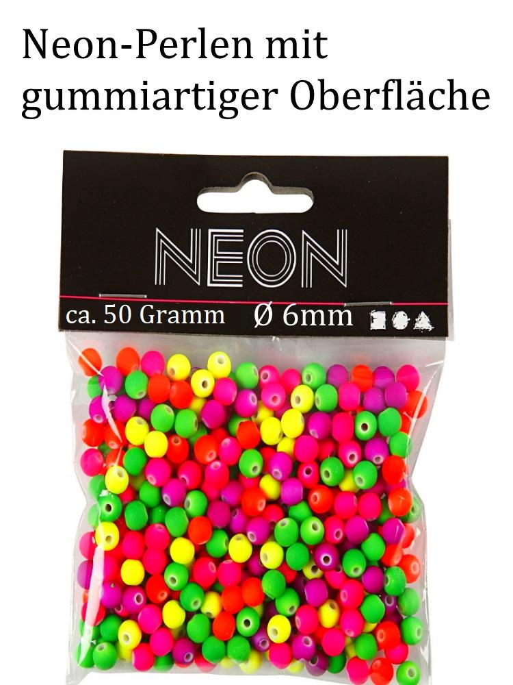 - leuchtende Acryl-Neonperlen für Kinder super bunt ca. 6mm groß für Armbänder, Ketten und mehr - leuchtende Acryl-Neonperlen für Kinder super bunt ca. 6mm groß für Armbänder, Ketten und mehr
