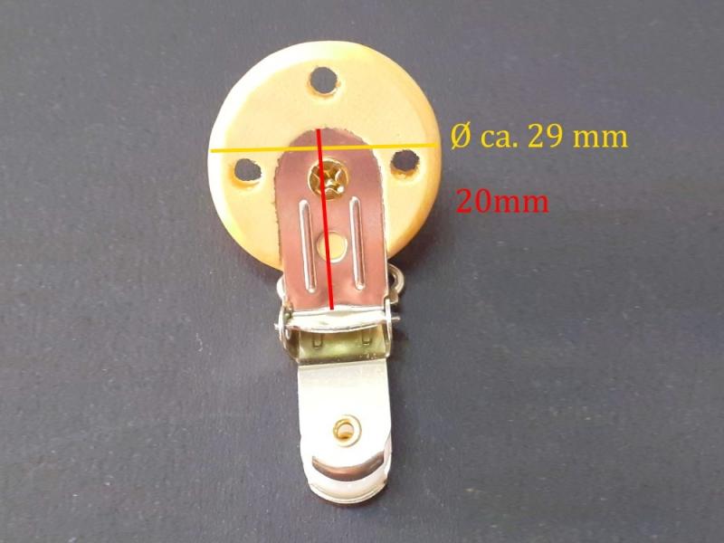 Kleinesbild - Schnuller-Kette selber basteln, Holzfarben, Schnuller-Clip aus lackiertem Holz, Baby, Nuckel, Schnuller,
