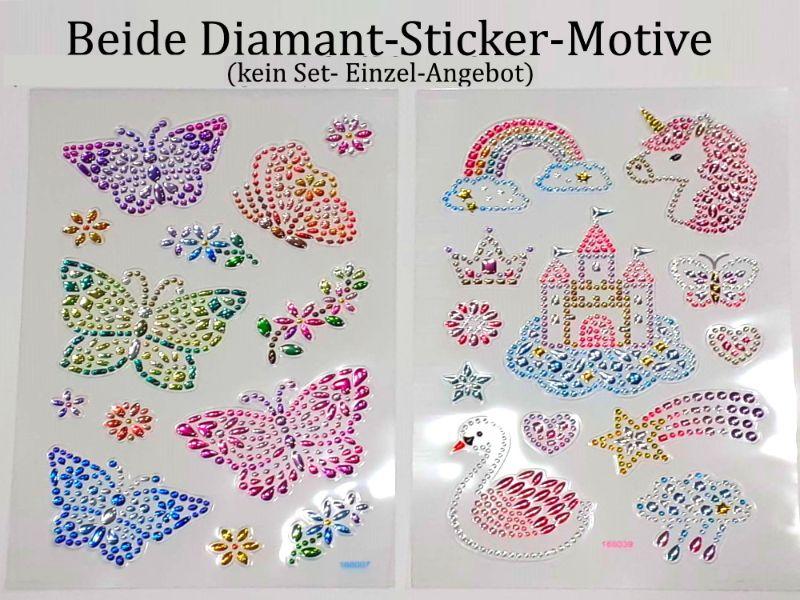 - Sticker für Karten, 3D-Motive -> Schmetterlinge oder Fantasie-Einhorn, Papierbasteln, Aufkleber Kartengestaltung Kinder - Sticker für Karten, 3D-Motive -> Schmetterlinge oder Fantasie-Einhorn, Papierbasteln, Aufkleber Kartengestaltung Kinder