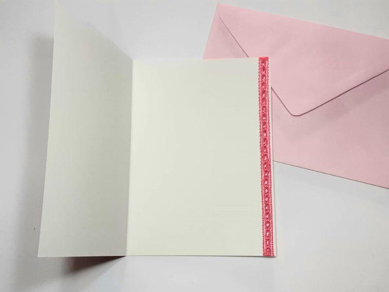 Kleinesbild - Glückwunschkarte für Mädchen, Kinder, Geburtstag, Schuleinführung o.ä Herzlichen Glückwunsch  Handarbeit Unikat