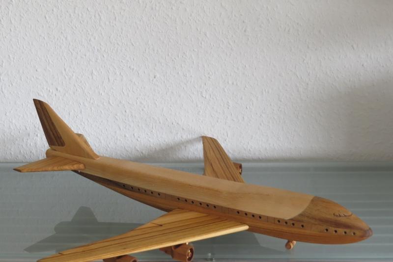 Kleinesbild - Flugzeug Air Force One Flieger Modellflugzeug Passagierflugzeug Modell mit Ständer sehr groß