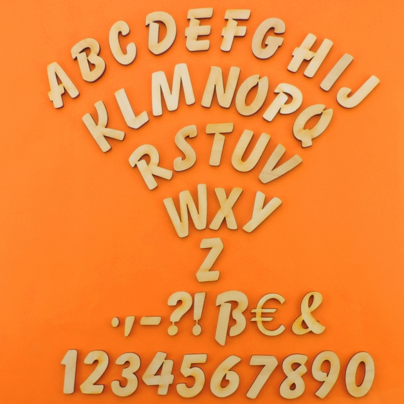 - Holzbuchstabe Natur Höhe 21 mm; A B C D E F G H I J K L M N O P Q R S T U V W X Y Z 1 2 3 4 5 6 7 8 9 0 für Türschilder  - Holzbuchstabe Natur Höhe 21 mm; A B C D E F G H I J K L M N O P Q R S T U V W X Y Z 1 2 3 4 5 6 7 8 9 0 für Türschilder