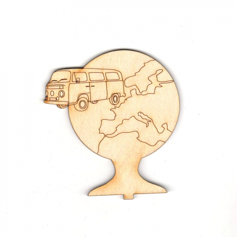 Kleinesbild - Geldgeschenk zur Silberhochzeit ♥ Hochzeitsauto Weltreise mit Reisebus, Bus ♥ Hochzeitsgeschenk, Personalisiert
