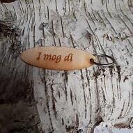 - Schlüsselanhänger  ♥ I mog di ♥ aus Holz  zum Verschenken   - Schlüsselanhänger  ♥ I mog di ♥ aus Holz  zum Verschenken