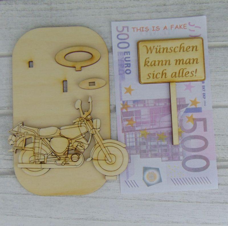 Kleinesbild - Geld - Gutscheingeschenk ★Moped 2 Takter Gute Fahrt Wunschname Personalisiertes Geschenk für Männer Geburtstag