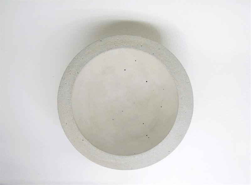 Kleinesbild - Beton Schale - moderne Deko - schlicht - handgefertigt -