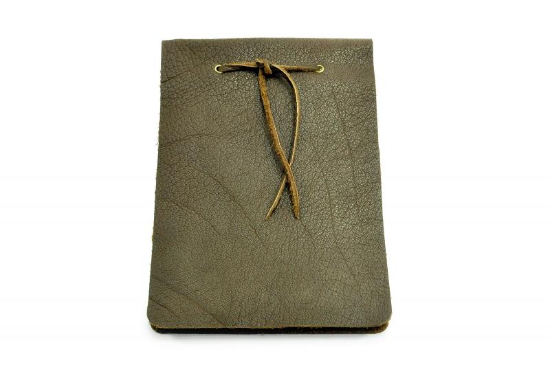 Kleinesbild - Lederbuch Tagebuch Notizbuch Skizzenbuch Gästebuch - Buffalo Sketch Chocolate - A5 - 200 Seiten - Vickys World - Kostenloser Versand