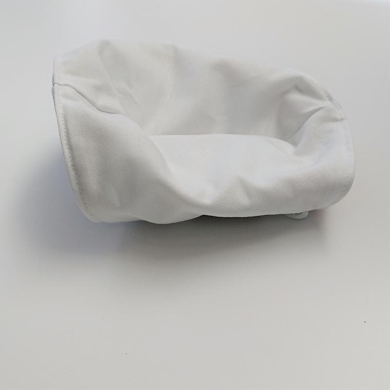 Kleinesbild - Mund - und Nasen - Maske mit buntem Muster, 2 lagig , KEIN Virenschutz , handmade by la piccola Antonella