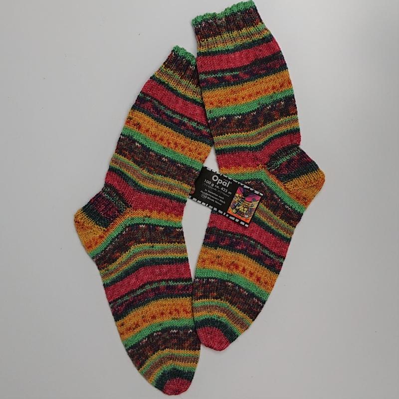 - Gestrickte Socken für den Mann, Gr. 42/43, Wollsocken, Kuschelsocken, handgestrickt, la piccola Antonella  - Gestrickte Socken für den Mann, Gr. 42/43, Wollsocken, Kuschelsocken, handgestrickt, la piccola Antonella