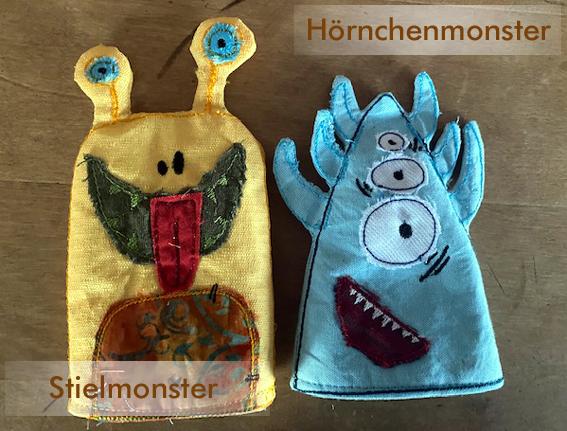 Kleinesbild - Monsterbande-Eierwärmer, 2 Stück, verschiedene