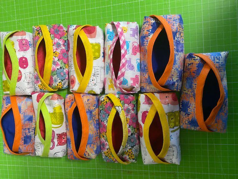 - Taschentuchtäschchen TaTüs in frischen Farben 12 x 6 x 2cm - Taschentuchtäschchen TaTüs in frischen Farben 12 x 6 x 2cm