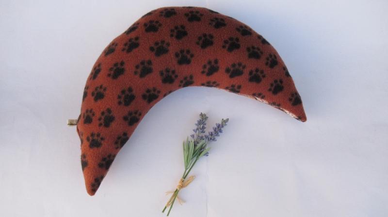 Kleinesbild - Nackenkissen Rinde Nackenhörnchen Geschenk ( auch mit gesticktem Schriftzug erhältlich)