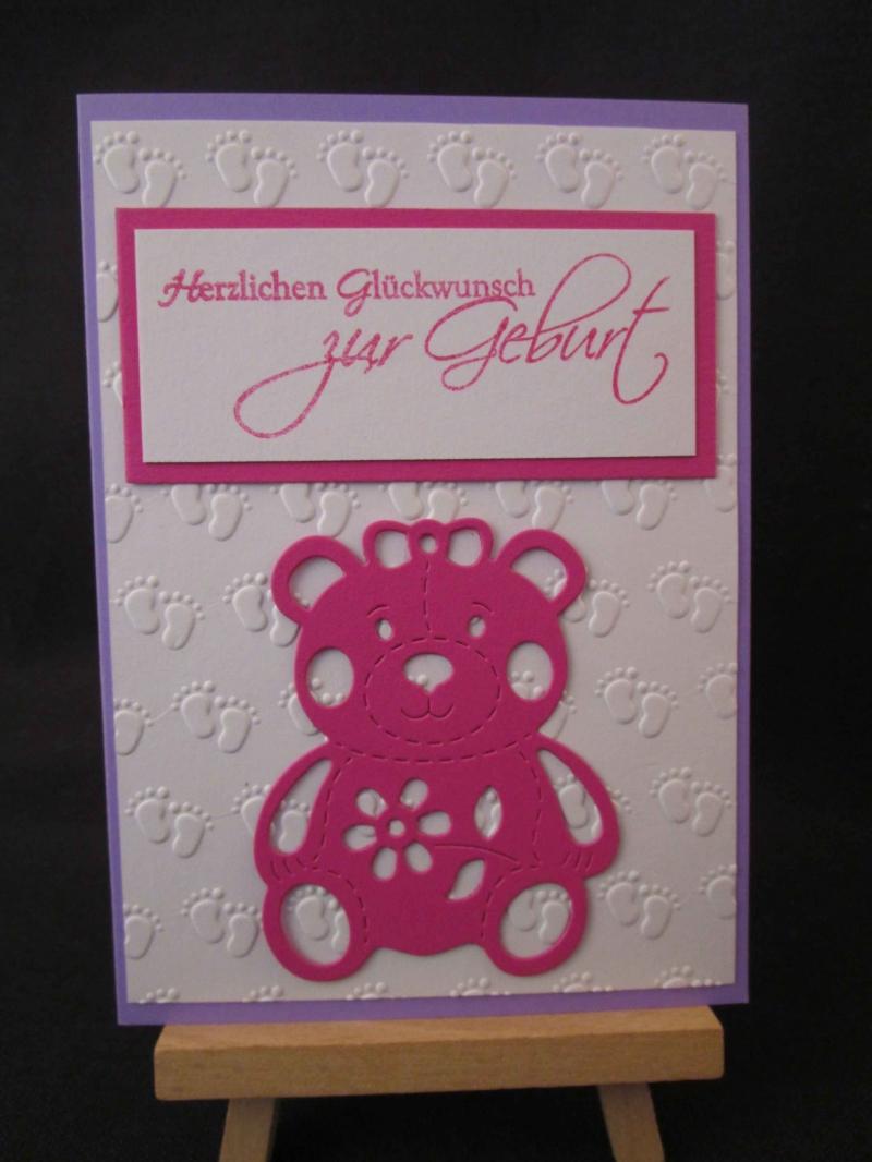 - Karte / Klappkarte / Glückwunschkarte zur Geburt - Karte / Klappkarte / Glückwunschkarte zur Geburt