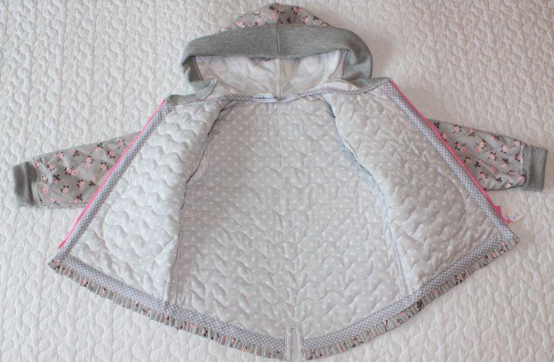 Kleinesbild - Kleinkind-Steppjacke,- Übergangsjacke, -Sommerjacke,-Baumwolljacke,-Größe: 92-98 cm