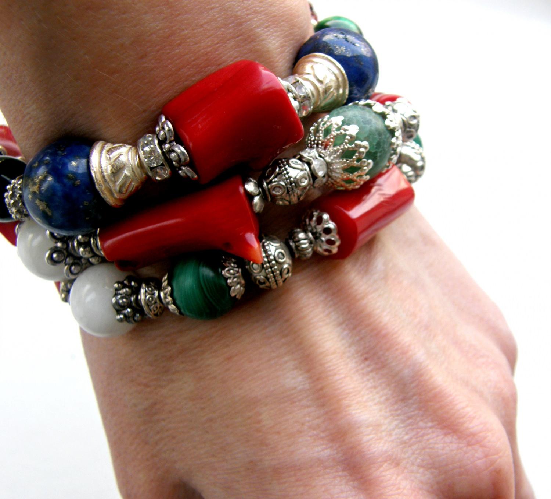 Kleinesbild -  Armband Tibet
