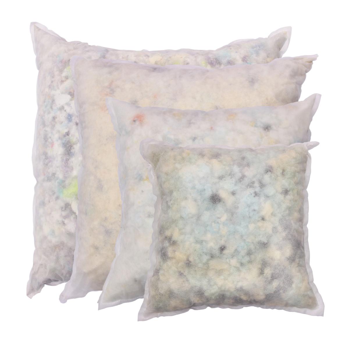 - Kissenfüllung Deko Couch Sofakissen Schaumstoff Flocken quadratisch in 4 Größen - Kissenfüllung Deko Couch Sofakissen Schaumstoff Flocken quadratisch in 4 Größen