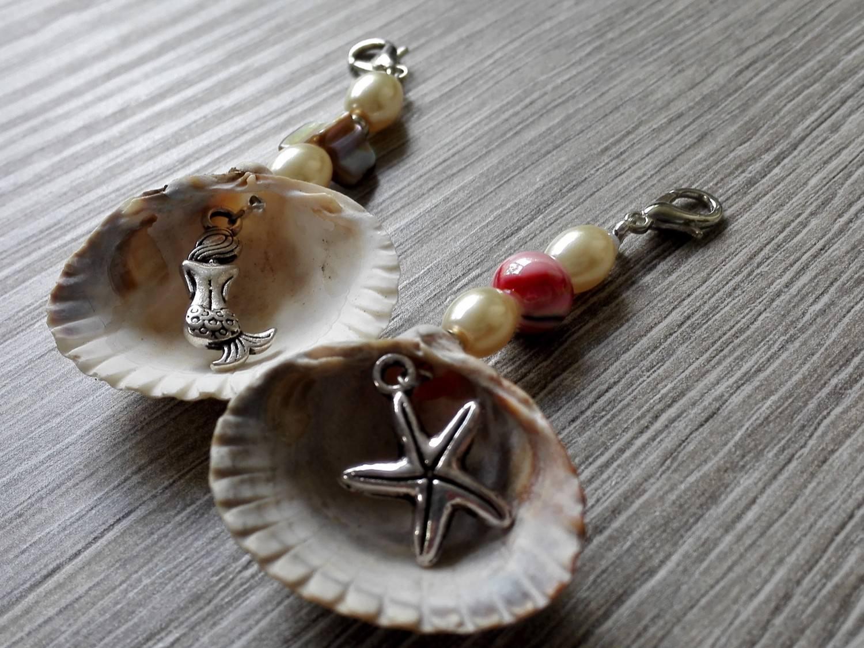 Kleinesbild - Geschenk- und Taschenanhänger aus echten Muscheln