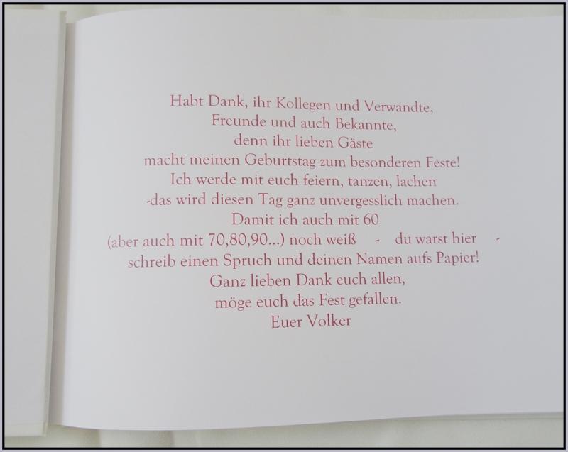 Kleinesbild - Gästebuch zur Hochzeit, Geburttag, Kommunion/Konfirmation mit bedruckten Seiten in vielen Farben nach Kundenwunsch
