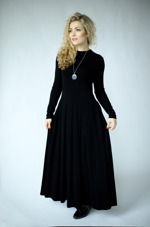 girls size 15 schwarz kleid