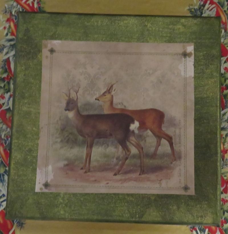 Kleinesbild - Schachtel, weihnachtlich, quadratisch, Decoupage