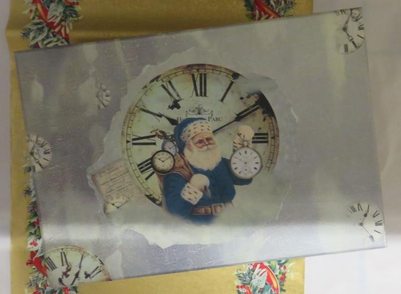 Kleinesbild - Papp Art Schachtel Weihnachten, mittlere Größe, Decoupage