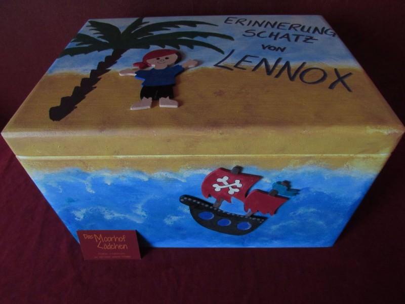 - Handbemalte Erinnerungskiste aus Holz mit Piratenmotiv kaufen - Handbemalte Erinnerungskiste aus Holz mit Piratenmotiv kaufen