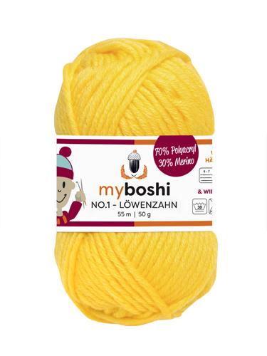- My Boshi No 1. - Löwenzahn 113 Lieblingsfarben - Wolle kaufen - My Boshi No 1. - Löwenzahn 113 Lieblingsfarben - Wolle kaufen