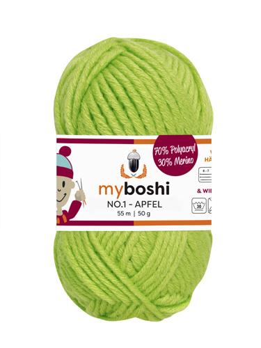 - My Boshi No 1. - Apfel 121 Lieblingsfarben - Wolle kaufen - My Boshi No 1. - Apfel 121 Lieblingsfarben - Wolle kaufen