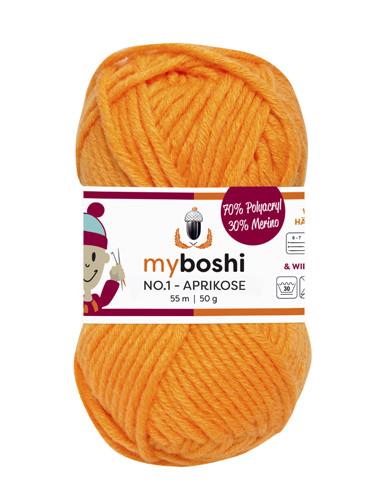 - My Boshi No 1. - Aprikose 137 Lieblingsfarben - Wolle kaufen - My Boshi No 1. - Aprikose 137 Lieblingsfarben - Wolle kaufen