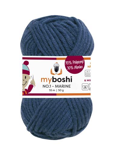- My Boshi No 1. - 50g Marine 155 Lieblingsfarben - Wolle kaufen - My Boshi No 1. - 50g Marine 155 Lieblingsfarben - Wolle kaufen