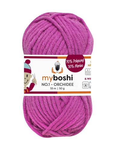 - My Boshi No 1. - Orchidee 167 Lieblingsfarben - Häkelgarn kaufen - My Boshi No 1. - Orchidee 167 Lieblingsfarben - Häkelgarn kaufen